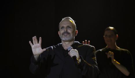 El cantant i actor espanyol Miguel Bosé actuarà el 14 de juliol al festival barceloní.