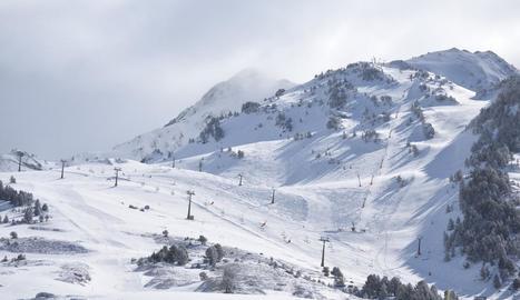 Les pistes de Baqueira Beret aspiren a acollir la competició olímpica.