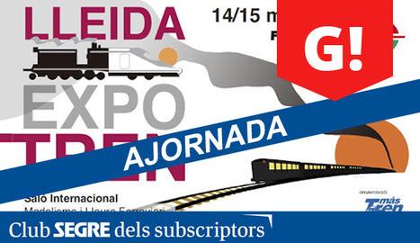 La Fira Expotren arriba a la seva onzena edició i s'ha convertit en un referent al nostre país i al sud d'Europa.