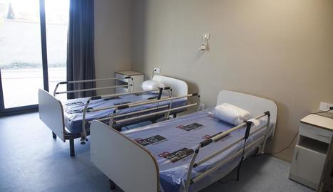 Imatge d'una de les sis habitacions de la residència.