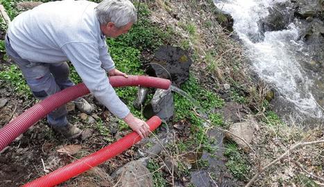 Lladorre espera recuperar l'aigua potable la setmana que ve
