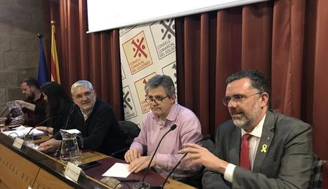 Tost a la reunió d'aquesta setmana amb alcaldes del Solsonès.