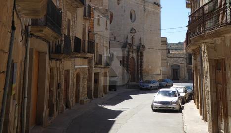 Un carrer de Sant Martí de Maldà