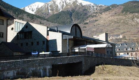 Imatge d'arxiu de l'Espitau de Vielha.