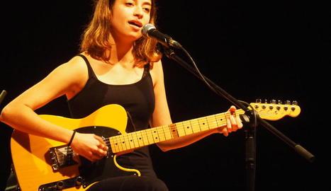 La catalana Pavvla va actuar a finals del 2019 a Lleida.