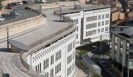 Imatge d'arxiu dels jutjats de Lleida.