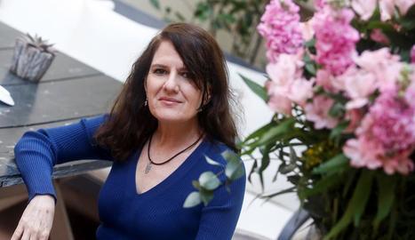 Herminia Luque, autora de la biografia novel·lada 'La reina del exilio'.