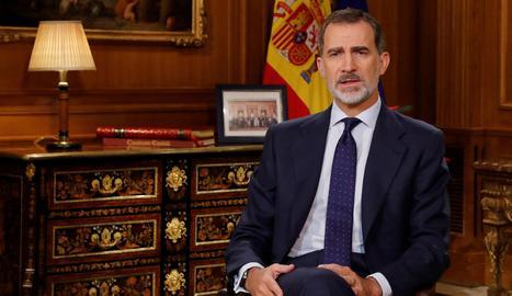 Felip VI renuncia a l'herència del seu pare, que deixa de percebre assignació
