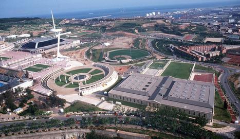 Imatge d'arxiu de l'Anell Olímpic de Barcelona.