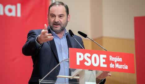 El ministre de Transport, José Luis Ábalos.