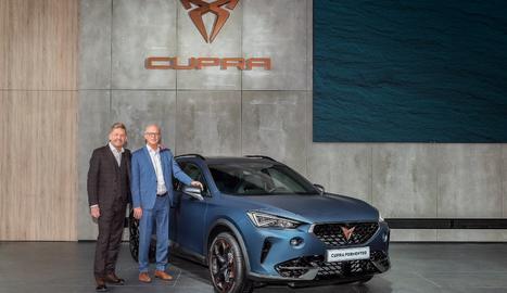 La companyia ha mostrat en una videoconferència el Cupra Formentor, que havia de fer el seu debut al Saló de l'Automòbil de Ginebra.
