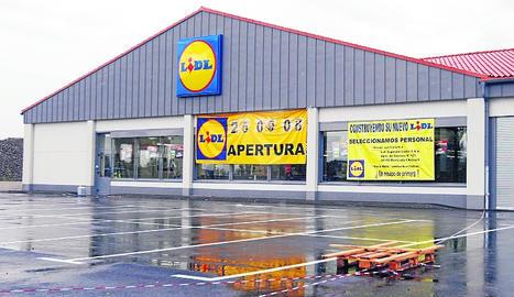 Un supermercat Lidl a Lleida.