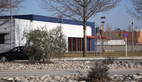 Imatge de la comissaria dels Mossos a Tàrrega.