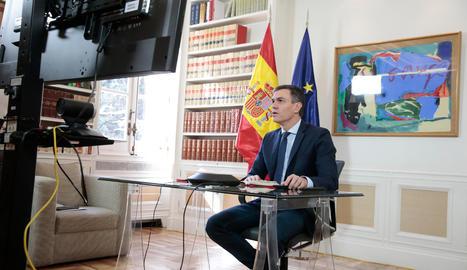 El president del Govern espanyol, Pedro Sánchez-