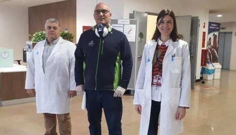 Comercial Pintures va donar ahir 9.800 guants, 15 ulleres i 75 vestits de protecció a l'hospital Arnau de Vilanova.