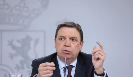 El ministre d'Agricultura, Luis Planas.