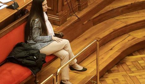 Imatge d'arxiu de l'acusada, Rosa Peral, durant el judici.