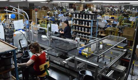 La producció de petits electrodomèstics a Taurus d'Oliana s'ha vist afectada per la crisi generada per la pandèmia.