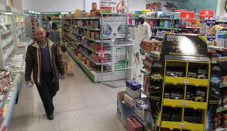 Imatge d'arxiu d'un supermercat Condis.