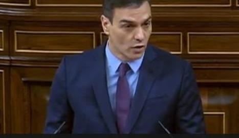 Ple del Congrés pel coronavirus amb la compareixença de Sánchez