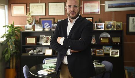 El president de l'entitat, Marc Cerón