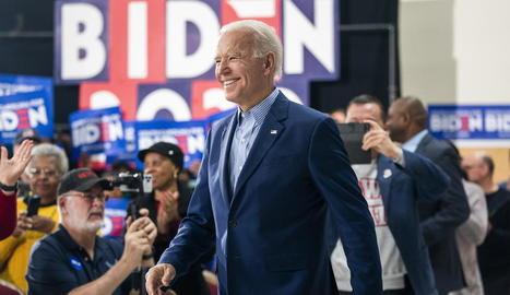 L'exvicepresident i candidat demòcrata Joe Biden.
