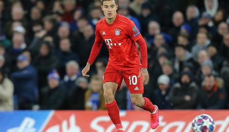 Philippe Coutinho juga aquesta temporada cedit al Bayern.