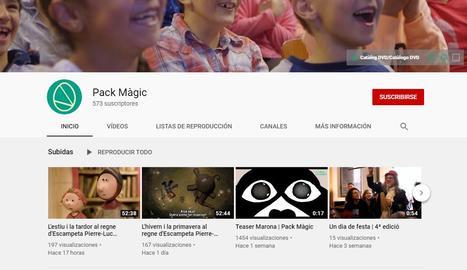 Pack Màgic ofereix pel·lícules infantils a YouTube
