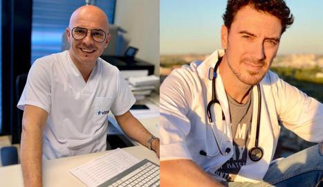 El ginecòleg Albert Cos i el metge de família Sergi Gòdia