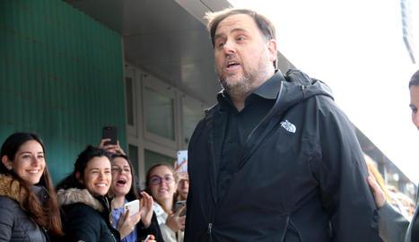 El líder d'ERC, Oriol Junqueras.