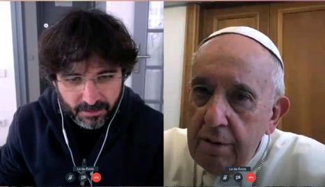 Jordi Évole comptarà amb l'opinió del papa sobre l'epidèmia.