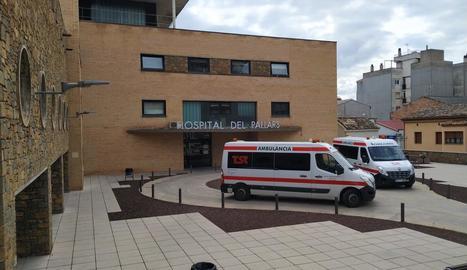 VÍDEO. Trasllats pacients de l'Hospital del Pallars a un hotel