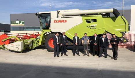 Dos tallers de Térmens i Solsona, punts de venda oficials de CLAAS a Lleida