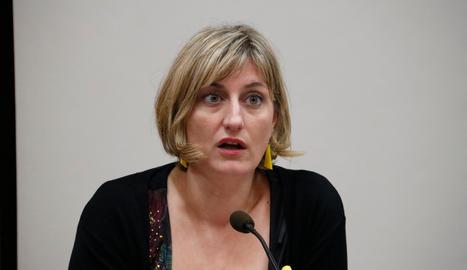 La consellera de Salut, Alba Vergés-