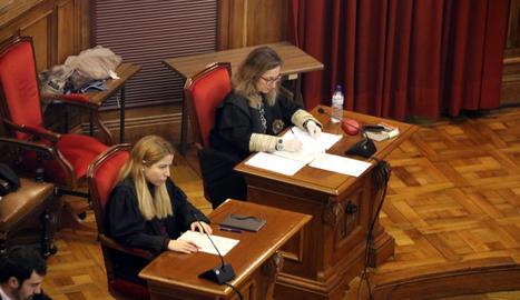La lectura del veredicte.