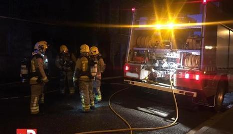 Els Pompièrs a Tredòs.