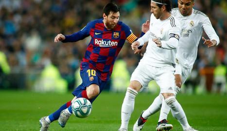 El futbol professional a Espanya no es reprendrà fins que no hi hagi risc per a la salut.