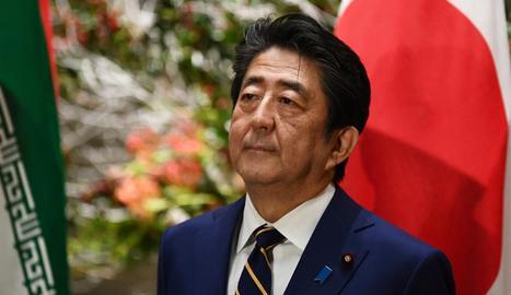 El primer ministre japonès, Shinzo Abe, va admetre ahir un possible ajornament dels Jocs.