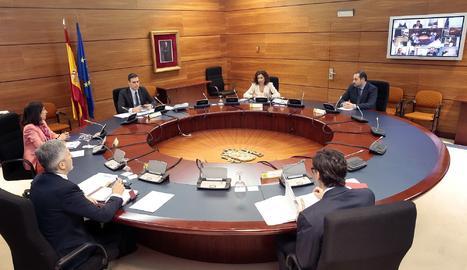 El consell de ministres d'aquest dimarts.