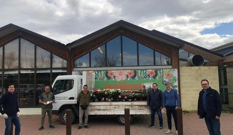 Jardiland dóna plantes per a les residències d'ancians d'Alpicat