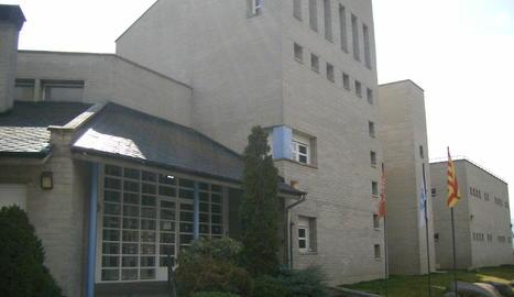 Imatge d'arxiu de l'alberg La Valira de la Seu d'Urgell.