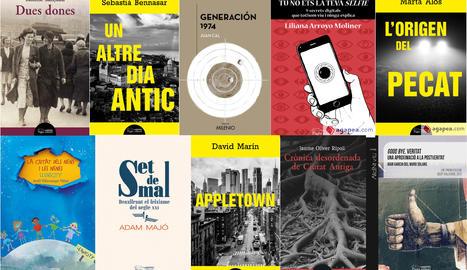 Una mostra dels llibres de Pagès Editors que es poden comprar a través de Segre.com i amb enviament gratuït a Lleida ciutat.