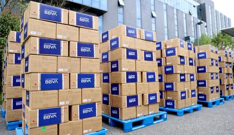 BBVA donarà 25 milions d'euros a la lluita contra el Covid-19