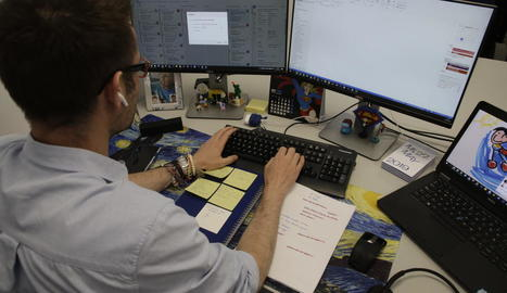 El teletreball s'ha convertit en l'única alternativa per a moltes empreses pel confinament.