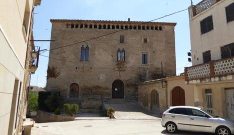 Imatge d'arxiu del castell de l'Espuga Calba.