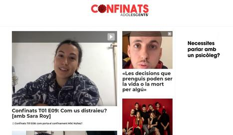Confinats.cat: Un consultori psicològic per a joves davant el confinament
