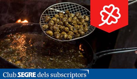 Els caragols del restaurant La Dolceta són, possiblement, els millors caragols del món.