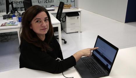 Alícia Orellana és cap de l'Observatori de Turisme del centre Eurecat