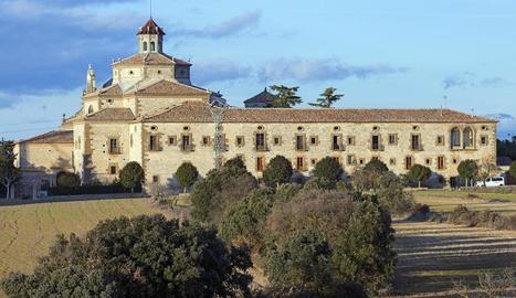 Imatge del santuari de Sant Ramon Nonat.