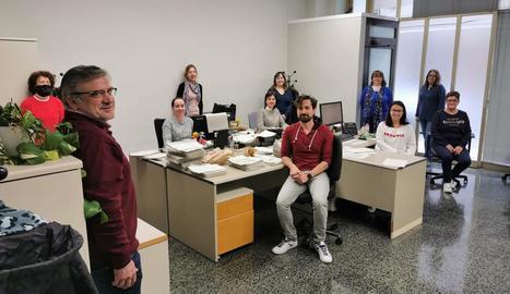 Funcionaris voluntaris van acudir ahir als seus llocs a Lleida per avançar tràmits dels ERTO.